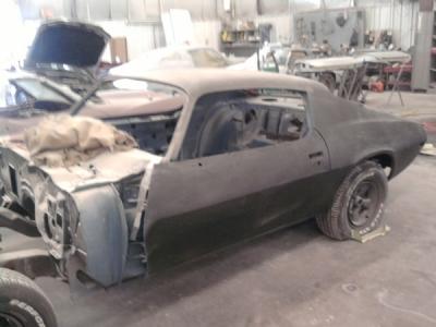 1970, 1971, 1972, 1973 Camaro rs ss rallysport z28 door roof wheel firewall panel cowl quarter