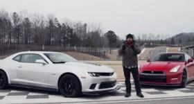 2014 Camaro Z/28 vs. Nissan GT-R