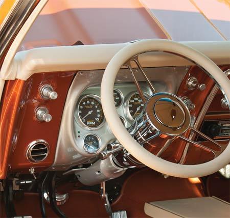 67 Camaro Interior 2