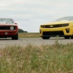 1969 Red Devil Camaro vs. New Camaro ZL1