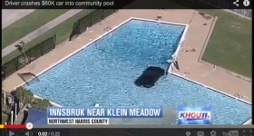 Teen Drives New Camaro ZL1 Into Texas Pool