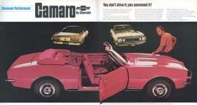 Gen 1-3 Camaro Timeline