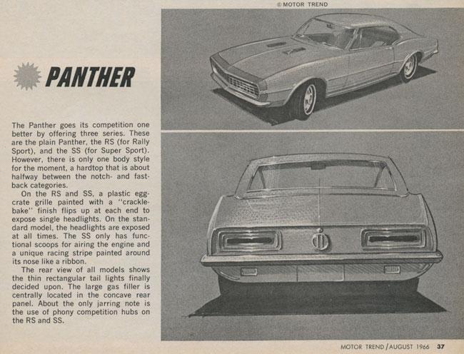 Camaro-Panther