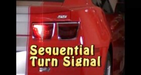 Camaro Sequential Tailight Light Conversion