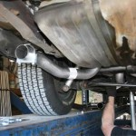 Dual Exhaust Installation