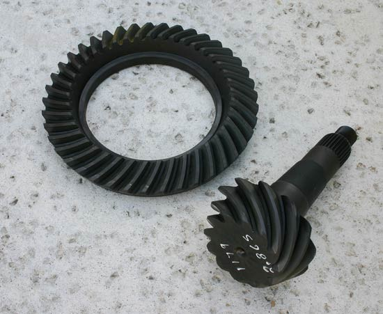 relationship between drive gear and driven