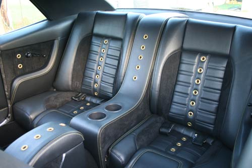 1969 Camaro RS rear seats