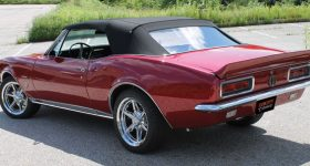 Going Platinum in a 1967 Camaro RS Convertible