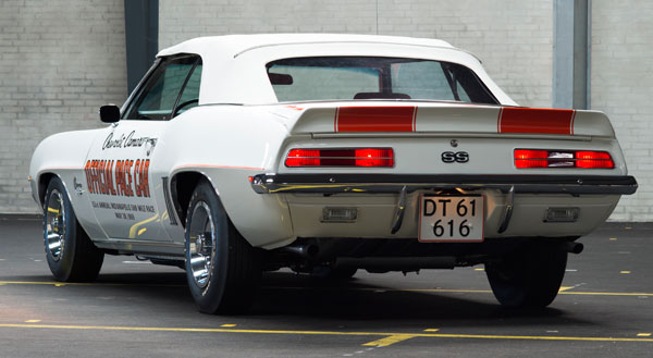 1969-Camaro-Pace-Car-rear-view
